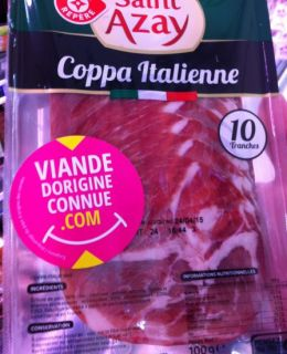 coppa origine connue